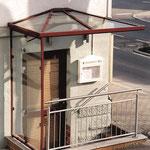 Seitenwand als Windschutz