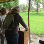 24.05.2013 Gewichtskontrolle des Dadant Honigraums