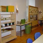 Geräteaufbau im großen Seminarraum