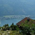 Blick vom Gerlitzen auf den Ossiacher See