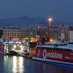 Abendstimmung im Hafen von Piräus - ohne Streik -