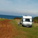 auch Free-Camping geht in Istrien