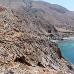 Wanderweg zw. Loutro und Marmara-Beach