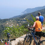 erste Radtour auf Lefkas
