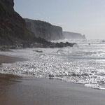 Am Strand von San Nicolao