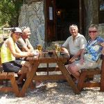 ein kühles Bier nach der Wanderung zur Cala Goloritze