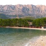 Strand vor CP Markaska