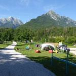 Camping an der Soca