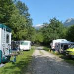 unser Camping Lizi Nähe Bovec