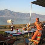 Free-Camping bei Karistos