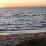 Sonnenuntergang auf Sinis