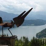 Blick auf den Millstätter See
