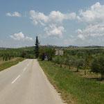 unterwegs im Hinterland von Novigrad