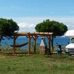 Luxus-Stellplatz am CP Campingpark Umag