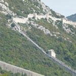 die Mauer von Ston-Peljesac