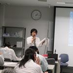 ㈱第一コンサルタンツの山岡幸弘氏がL型擁壁の設計法を説明。