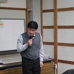 「高知県道路構造物等標準設計マニュアルについて」講演をする道倉直樹氏