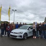 Partecipanti al «Automobilista svizzero dell'anno» ad Hinwil