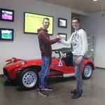 Les finalistes du Groupe 2 : Pascal Stauffer et Andreas Müller.
