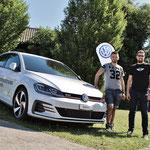 Die beiden Gewinner heissen Lucas Martini (25) auf Audi Q3 und Christoph Zbinden (25) auf Mini Countryman.