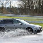 Der Audi RS4 von Jürg Sägesser schaffte es aufs Podest.