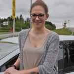 La finalista Virginia Wendel