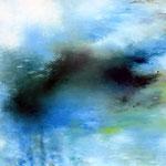 涙のあと(S80) 2006 油彩