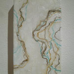 「layer-流れ-」(一部) 2011年@Gallery NANNA