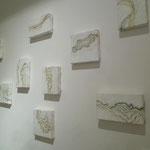 「layer-流れ-」 2011年@Gallery NANNA