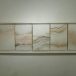 「horizon」 37×111cm 2011年@Gallery NANNA
