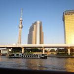 隅田川の夕方