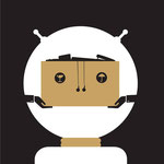 ¡Largo de aquí , la ilustración editorial para acompañar un artículo sobre cómo la tecnología está destruyendo puestos de trabajo.