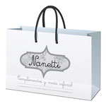 Bolsa de Nanetti a 1 tinta para ajustar el coste.