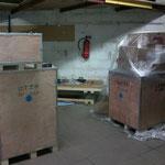 Anlieferung der Maschinen von RP-Tools kochmann-motorsport