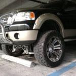 Ford PickUP Höhergelegt