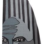 """""""Le masque"""" Bois laqué acrylique. Collection privée."""