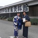 江戸時代から続く紺屋中島安夫さんの工房を見学