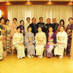氷川会館にて「埼玉きもの散歩」出版記念会