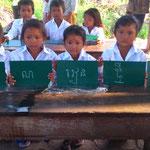 Natürlich sthet das Khmer lernen im Vordergrund