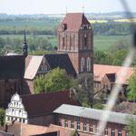 Blick vom Turm zum Dom