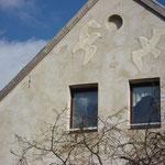 Westlicher Giebel am Haus Schweriner Str 79