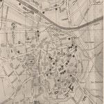 Standorte der ersten 28 Güstrower Telefonanschlüsse 1892
