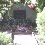 Grabstätte für Wilhelm Höcker, auf dem Friedhof Güstrow