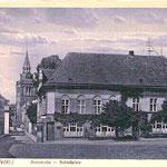 Dachgestänge am ehem. Schlossplatz