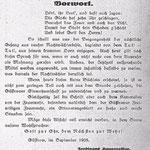 Aus der Festschrift zum 60. Jubiläum der Feuerwehr 1928.