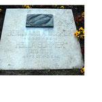 Grabstein auf dem Friedhof Güstrow