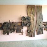 Die Künstler Leni Schamal und Ernst Löber sind Geschwister und 1938 bzw. 1935 geboren und entstammen einer Ahrenshooper Künstlerfamilie.