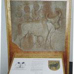 Stier vom Wehr, jetzt im Bestand des Stadtmuseums