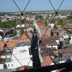 Blick vom Turm in Richtung Westen (Hageböckerstr.)