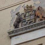 Ehemaliges Großherzogliches Postamt und  ehemaliges Großherzogliches Telegrafenamt, Domstr 6
